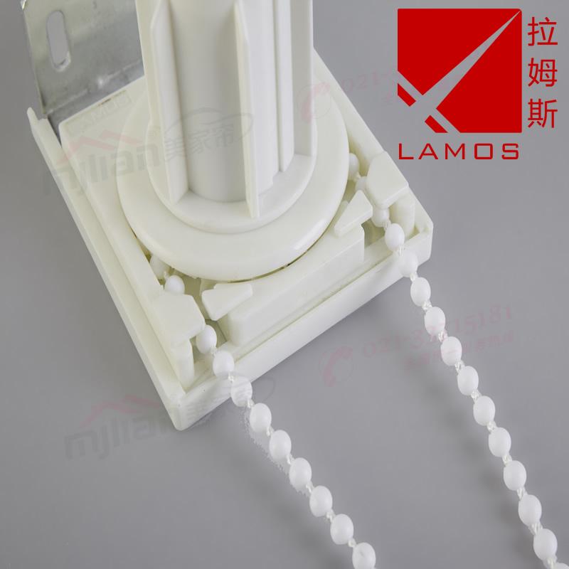 正品拉姆斯拉珠制头卷帘拉珠配件钢制重型卷帘 控制器窗帘配件