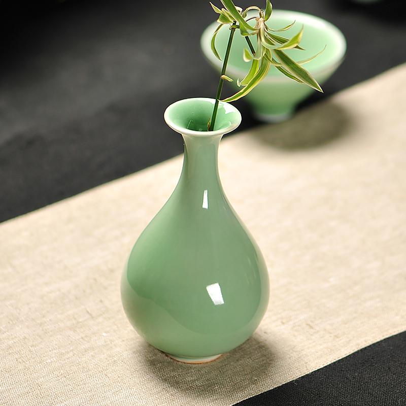 花瓶小清新陶瓷花瓶摆件客厅插花创意花器水培容器陶瓷小花瓶瓷器
