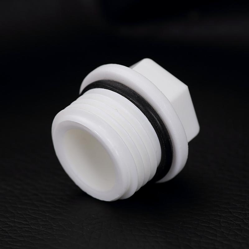 加厚20ppr4分丝堵外内丝堵头6分25外内牙堵头PPR水管活接管件配件