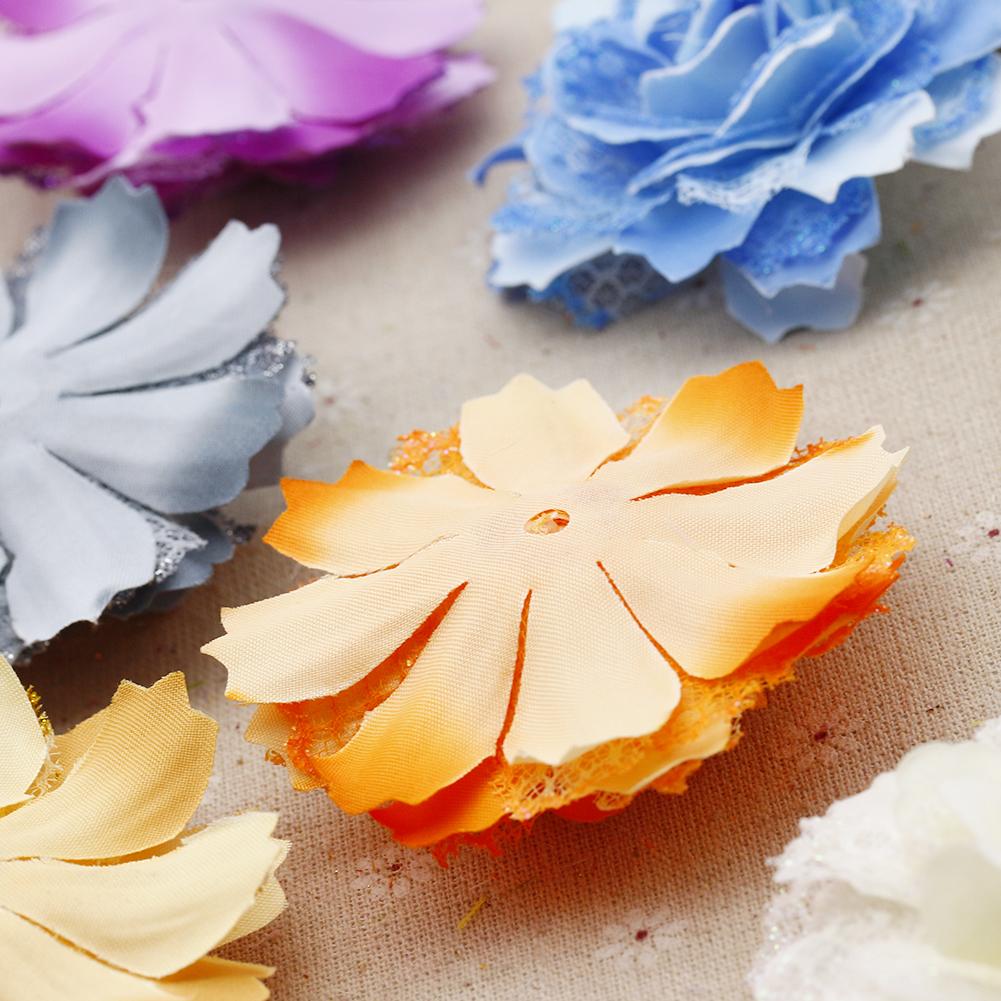 仿真欧式复古牡丹花朵 玫瑰点缀金粉花 古装 戏剧 头饰发饰用花