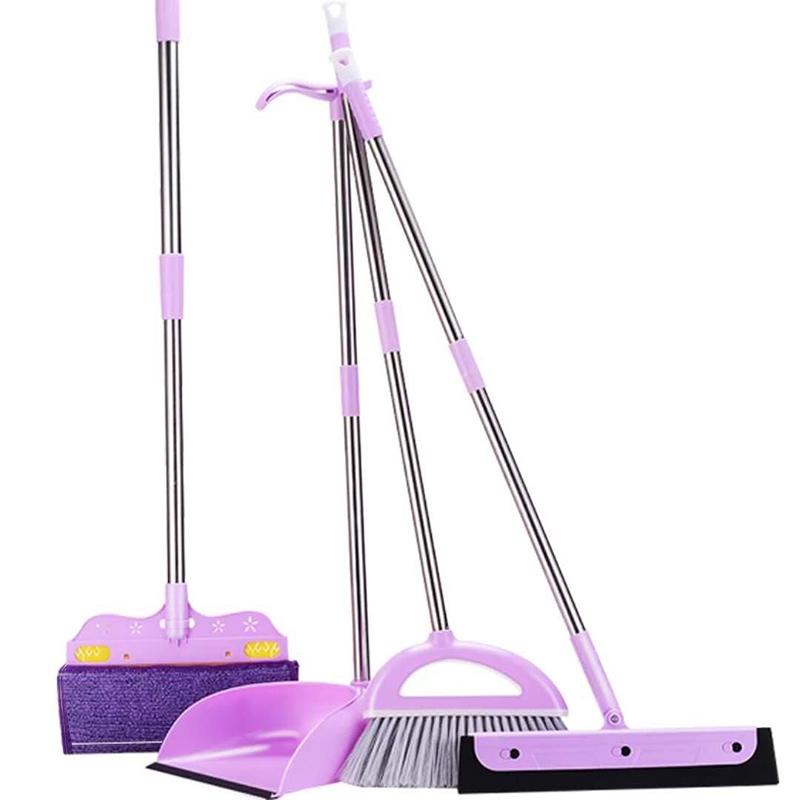 扫把簸箕套装组合扫帚魔法扫地笤帚家用软毛撮子单个扫头发刮水器