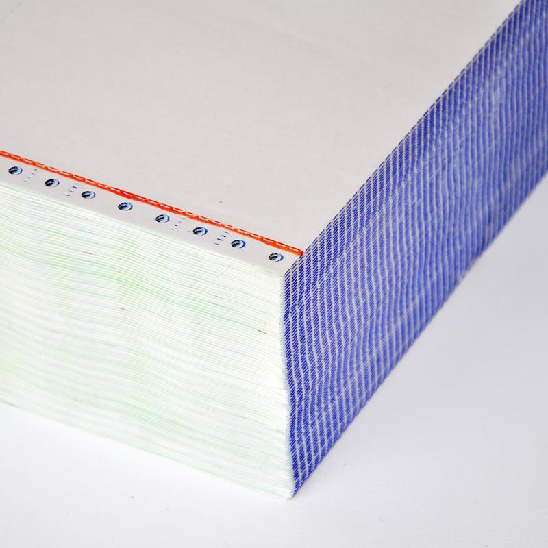 电脑打印纸三联二等分 二联四联三等分针式打印纸 发货单两联连打