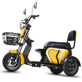 电动三轮车家用电瓶车老人老年迷你接送孩子小型电三轮新款代步车