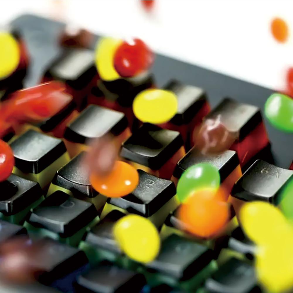 红青轴背光彩虹版 cherry 樱桃 g610 游戏机械键盘 G610 官方旗舰店罗技