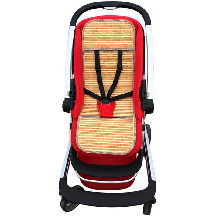 婴儿推车凉席通用夏季儿童伞车手推车藤席竹席垫宝宝好推车席坐垫