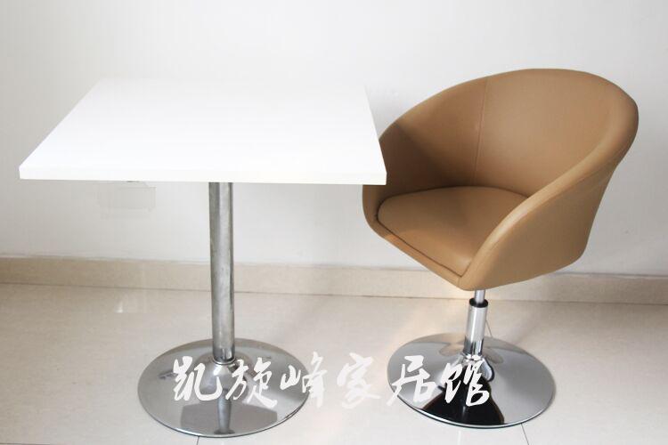 简约时尚单人休闲沙发椅子升降椅办公转椅靠背电脑椅洽谈椅美甲椅