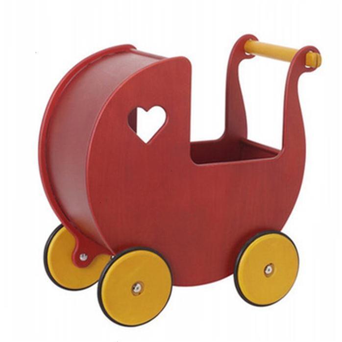 德国sebra儿童单杠手推学步车木制推车助步车木质婴幼助步车玩具
