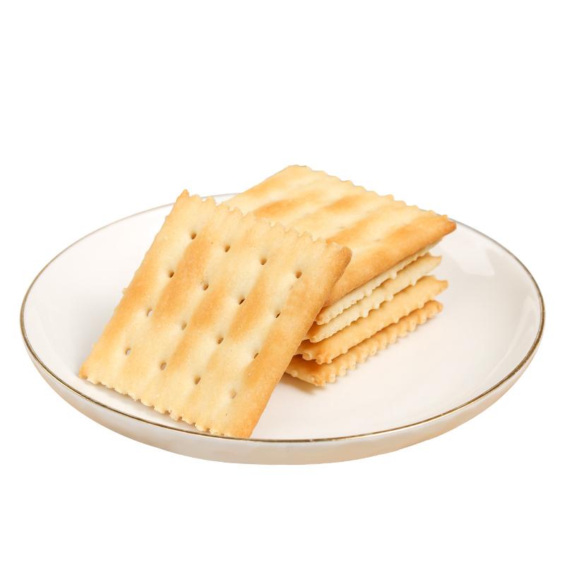 咸味低无糖精代餐香葱苏打饼干整箱小包装多口味散装零食品脂早餐