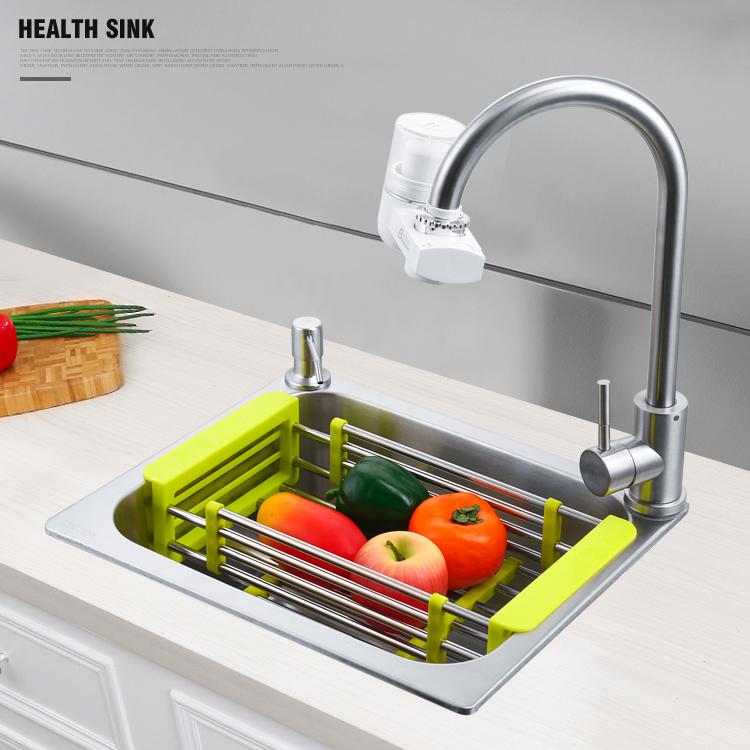 吧台阳台上台下 小号迷你小户型洗手盆 不锈钢洗菜盆水槽单槽 304