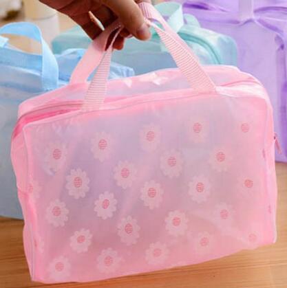 透明防水浴室收纳包多用旅行洗浴洗漱包化妆品收纳袋洗漱袋整理袋