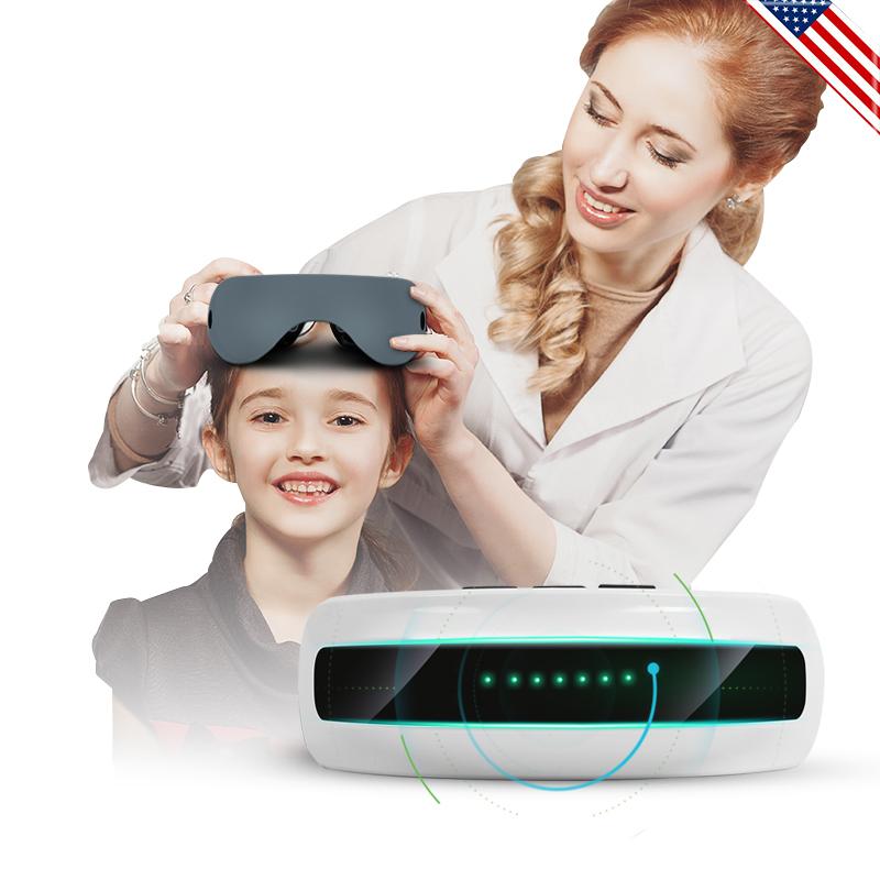 贝茨眼部按摩仪护眼神器眼睛近视儿童视力训练缓解疲劳学生眼保器