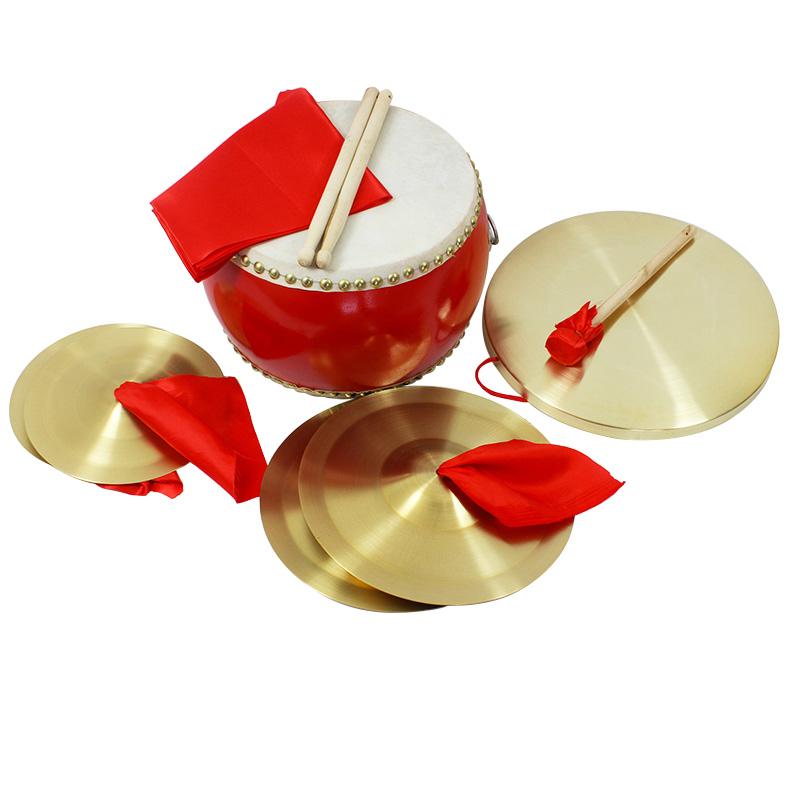 器包邮 句半套装大人舞台表演乐 3 中场 鼓铜锣铜擦 三句半道具