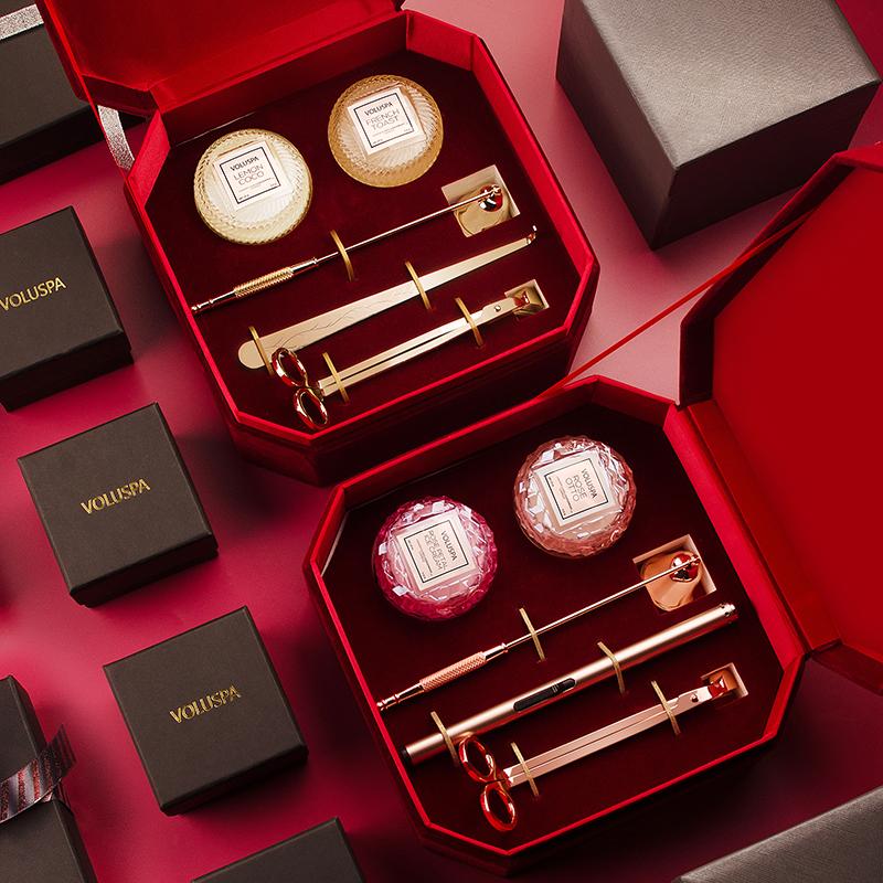 伴手礼结婚纪念日礼物老婆高端大气实用香薰蜡烛工具礼盒 Voluspa