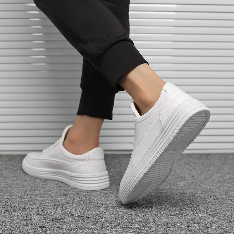 夏季款小白鞋男2019新款百搭韩版内增高休闲运动鞋学生板鞋