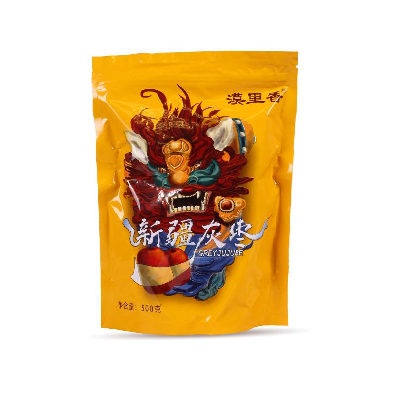 【漠里香】干果新疆特产一级若羌小红枣子阿克苏灰枣红枣500g*6袋