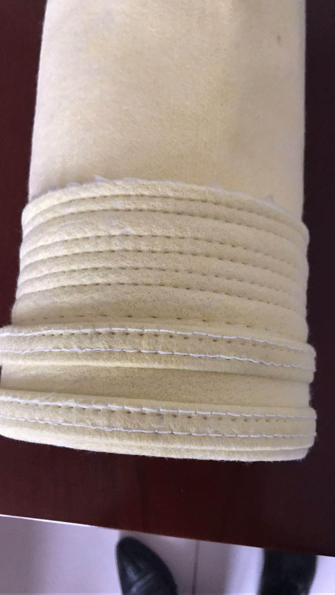 耐高温抗腐蚀工业氟美斯针刺毡除尘布袋工业滤袋防尘滤袋集尘布袋