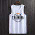 Basketball uniform sports running vest men and women round neck sleeveless T-shirt vest training suit competition jersey loose fitness