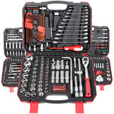Socket wrench set ratchet auto repair car repair hardware tool box car multifunctional repair combination tool