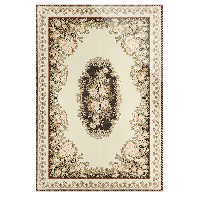 博帝 客厅瓷砖拼花玄关入门拼花地砖欧式抛晶砖拼图地板砖