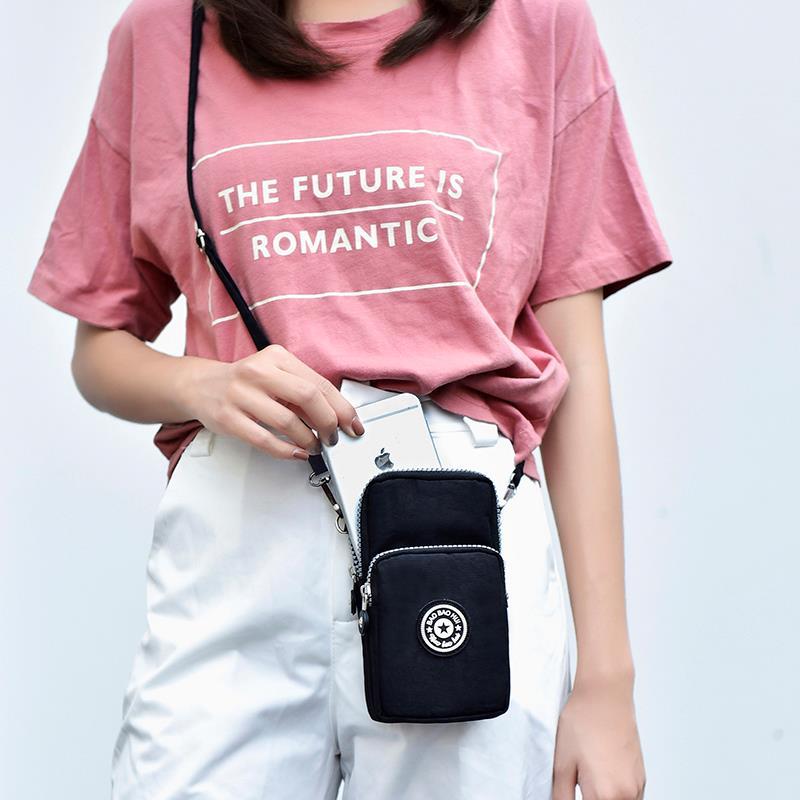 新款2020韩版手机包女斜挎手腕零钱包挂脖手机袋夏天迷你