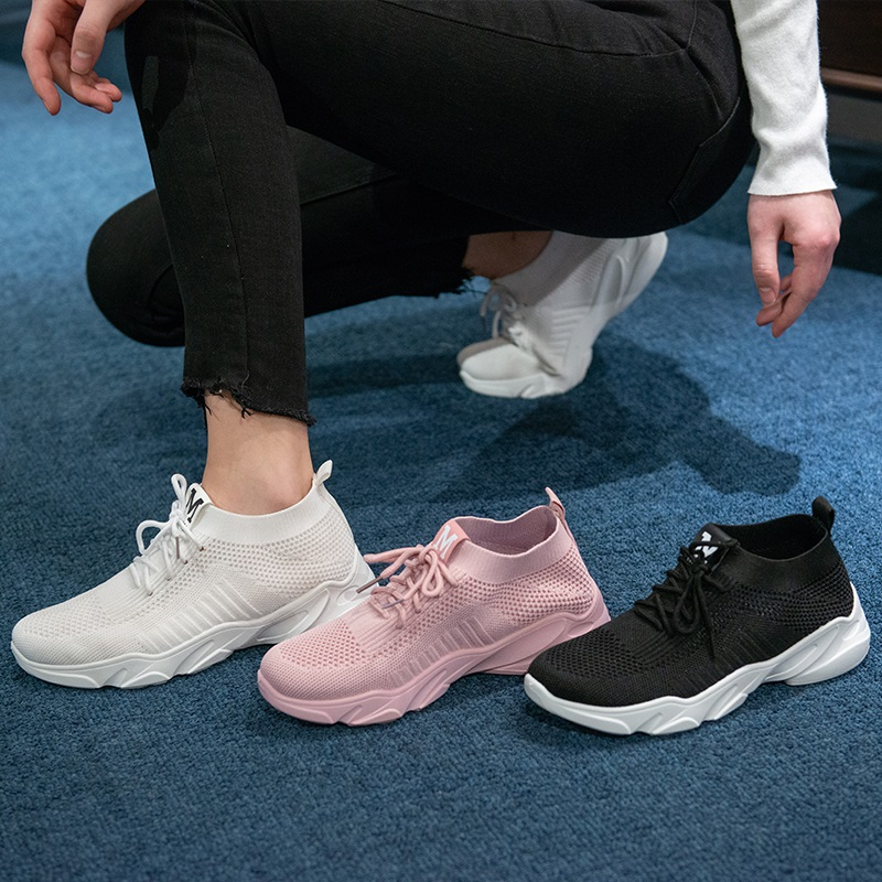 n  潮鞋子 ins 2020 年春季新款运动鞋女老爹学生百搭韩版跑步网红 休闲