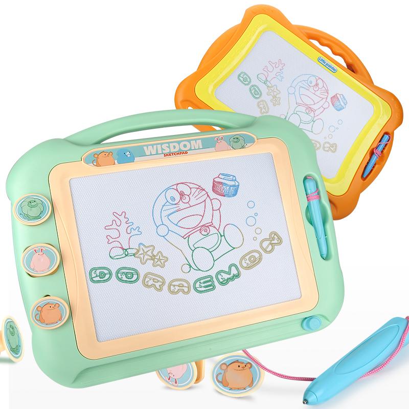 超大号儿童画画板磁性写字板 彩色小孩幼儿 1-3岁玩具宝宝涂鸦板