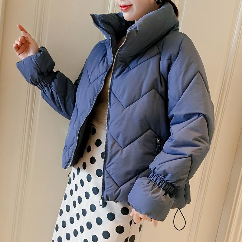棉衣棉服面包服女短款ins加厚小棉袄2018新款韩版学生冬季外套天