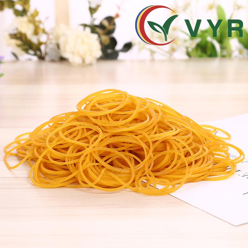 越南原装进口VYR橡皮筋牛皮筋橡皮圈一次性发圈发饰环保无毒包邮