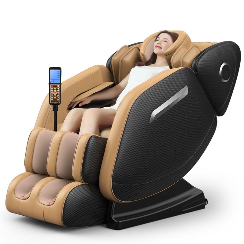 按摩椅全身家用揉捏颈椎腰部电动老年人按摩器零重力小型老人沙发
