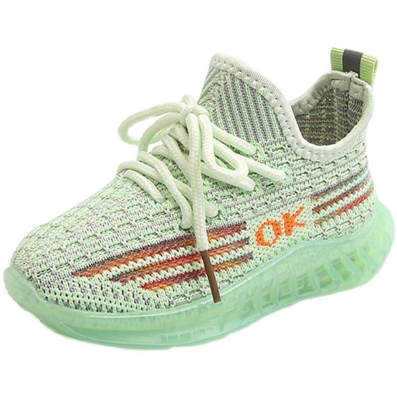男女宝宝童鞋透气运动鞋女童鞋子春款 2021 女童鞋子春款儿童椰子鞋