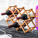 Ornaments creative wine rack wine bottle rack cabinet Solid wood display stand home decorations living room wine rack