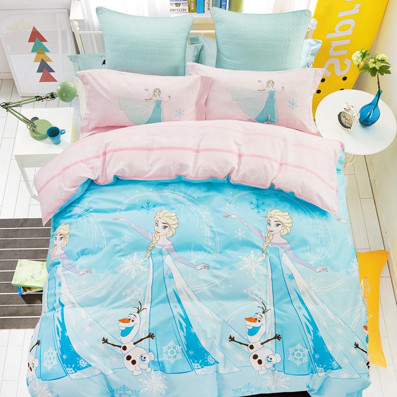 【薇娅推荐】迪士尼A类儿童纯棉四件套1.5m床全棉床单被套1.8m床 - 图3