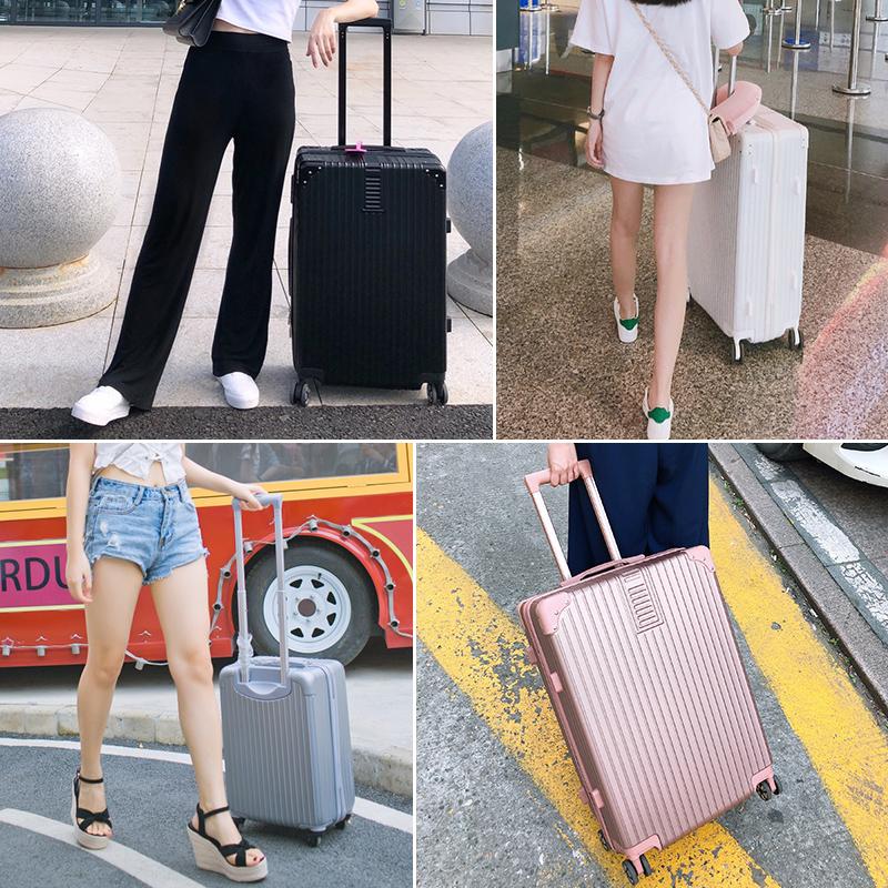密码皮箱子男学生 24 寸 20 网红小型旅行箱万向轮 ins 拉杆箱女行李箱