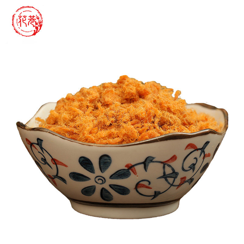 寿司营养肉松早餐零食品香酥烘培猪肉松福建特产 花巷肉松