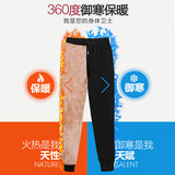 Autumn and winter sports pants women plus velvet thick harem pants casual pants lambskin sweater pants warm pants outer pants women