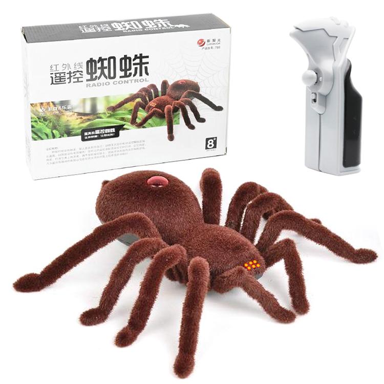 红外线恶搞遥控蜘蛛