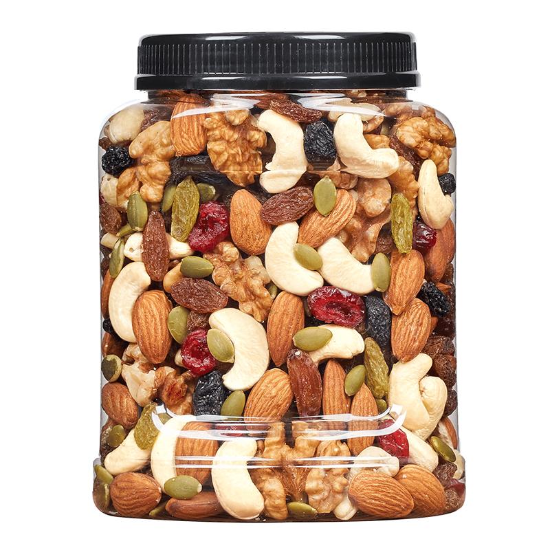 新货每日坚果混合坚果零食小包散装干果混合装儿童孕妇500g罐装 No.4