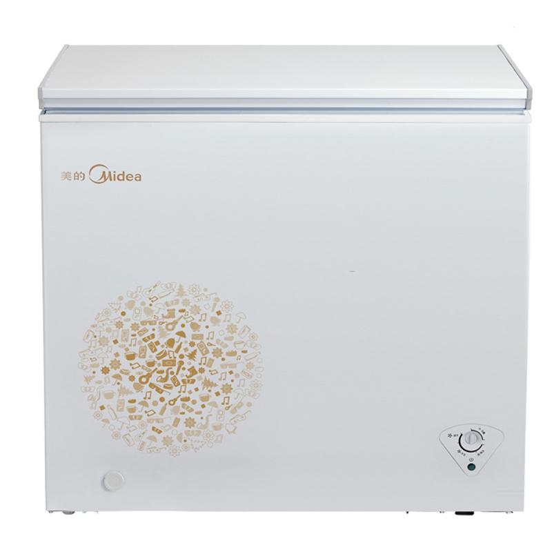 冰柜冷柜冷藏冷冻家用顶开式单门冰箱 E 203KM BC BD 美 Midea