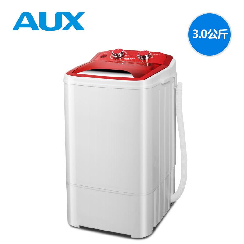 单筒单桶家用大容量半全自动小型迷你洗衣机 38 XPB30 奥克斯 AUX