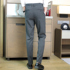 Men's trousers thin section men's spring and autumn business casual men's trousers straight Korean version of all-match trousers Slim striped suit trousers