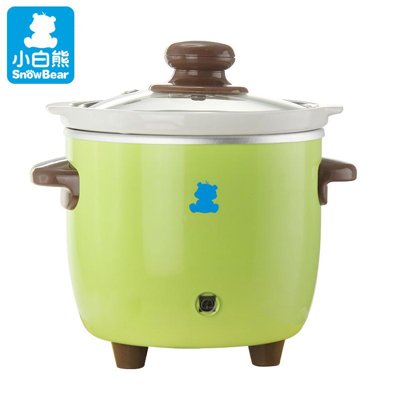 小白熊婴儿bb煲 宝宝电饭煲电炖锅幼儿多功能熬煮粥锅宝宝辅食锅