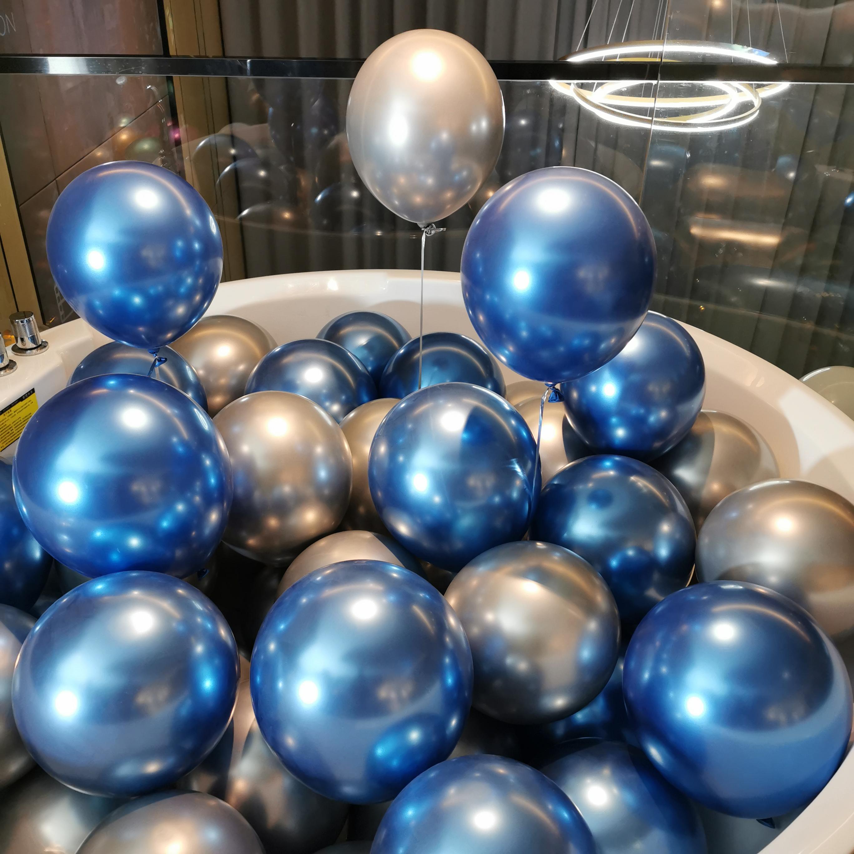 网红金属气球结婚房专卖店庆开业周年庆典装饰生日派对教师节布置