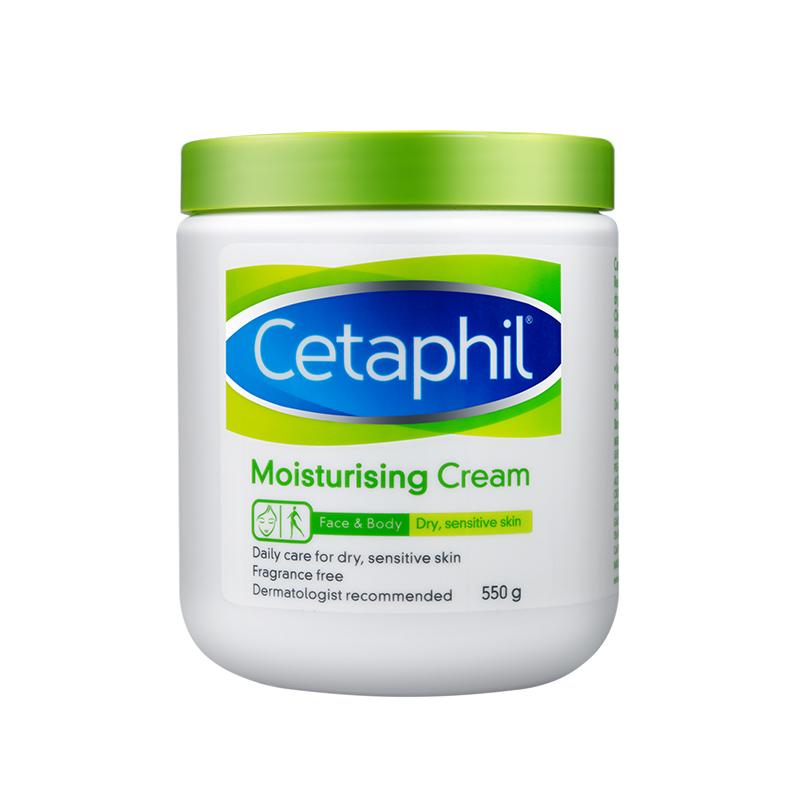 2 丝塔芙加拿大进口敏感肌补水温和致润保湿润肤霜  Cetaphil 550g