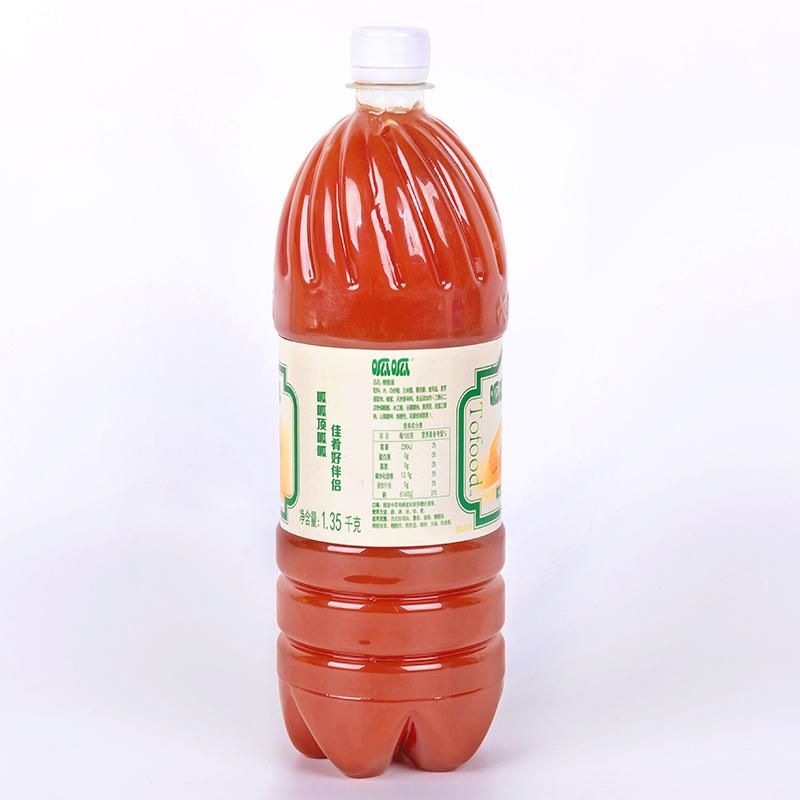 呱呱牌糖醋酱1.35KG桶装肯德基鸡块排薯条意面排骨鱼火锅蘸酱料