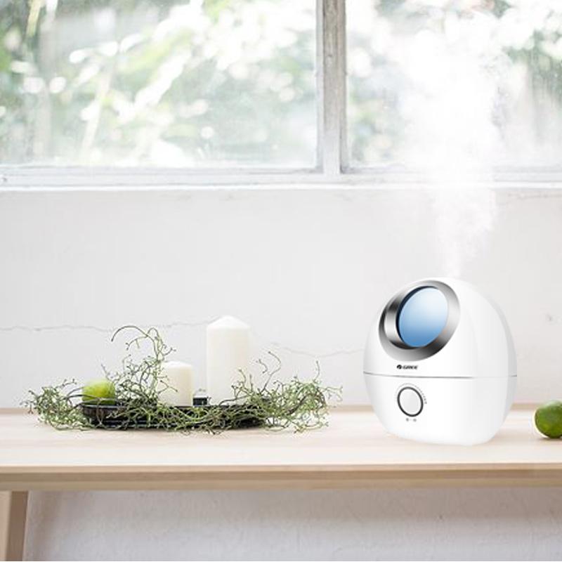 格力加湿器家用小型静音香薰卧室孕妇婴儿空调空气增湿大雾量净化