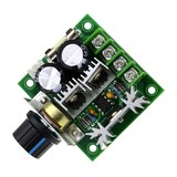 DC motor governor PWM speed control switch motor fan controller 12V-40V10A stepless speed change
