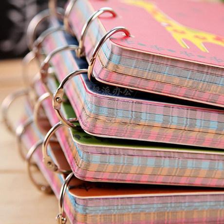 Full 100 Free Shipping Desk Calendars Diy Loose Leaf Book Ring Retaining Coil Iron
