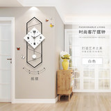 Clock hanging clock living room Nordic modern creative minimalist clock home fashion silent personality decorative clock hanging
