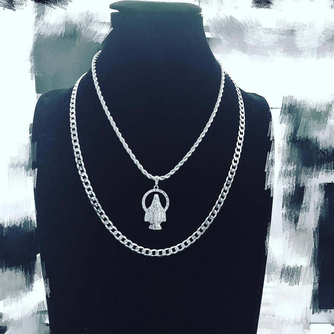 chain 镀金项链 14k 欧美说唱嘻哈古巴链 5mm Period X 上海现货