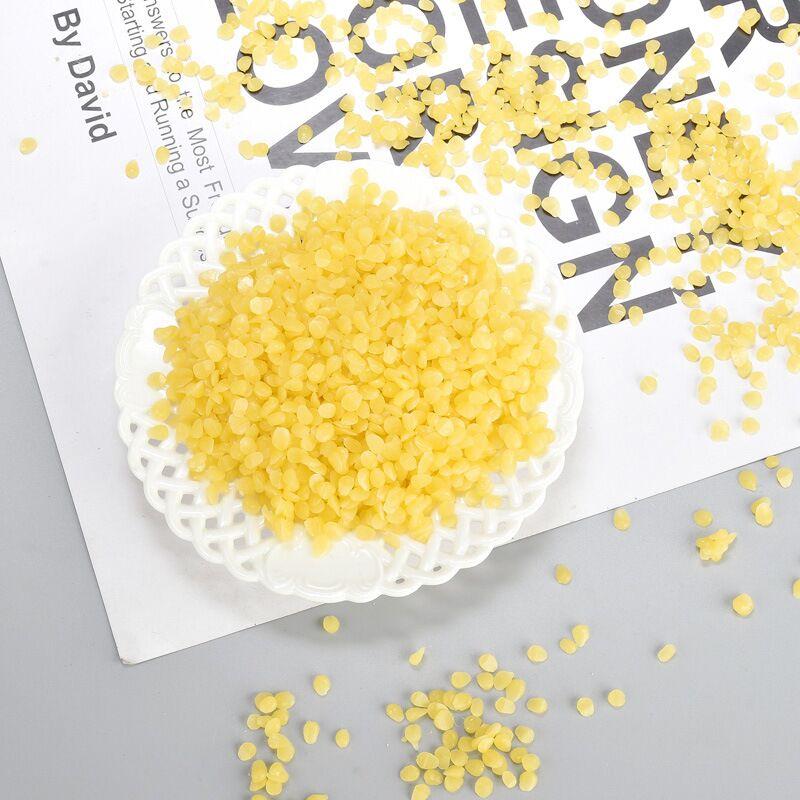 蜂蜡口红制作材料diy手工可食用天然白蜂蜡小烛树蜡口红果冻蜡